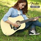 Fender/芬达吉他CD-60 41寸云杉面板初学民谣吉他 木吉他